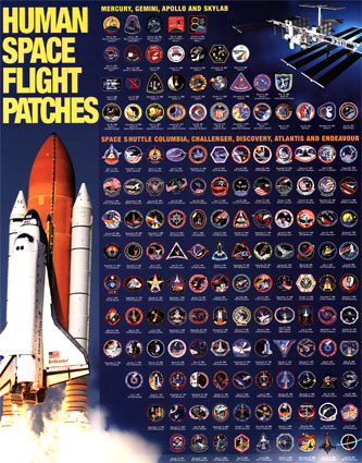 space shuttle mission badges - photo #33